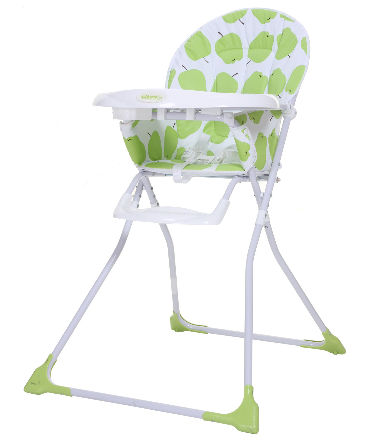 Kiddicare Snack Highchair - Green Apples