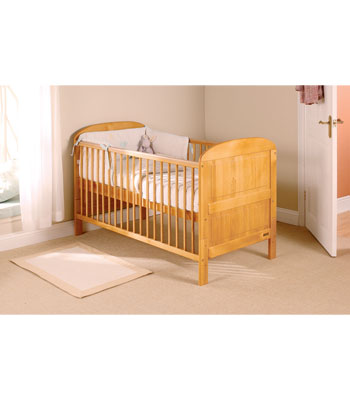 Baby Weavers Angelina Cot Bed - Antique