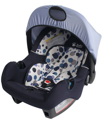 Baby Weavers Smart Car Seat - Orbit Blue
