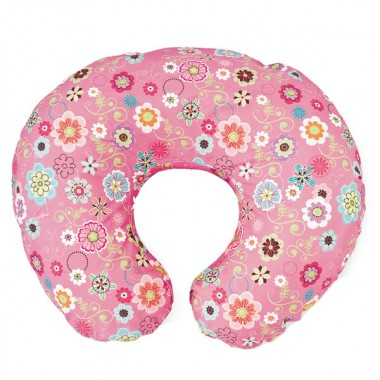 Chicco Boppy Pillow With Cover-Wild Flowers CLEARANCE