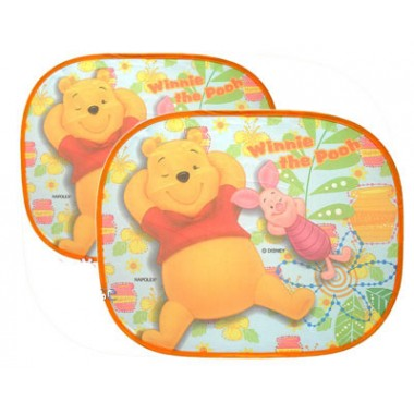 Disney Side Window Sunshades-Pooh