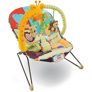 Fisher Price Luv U Zoo Playtime Baby Bouncer