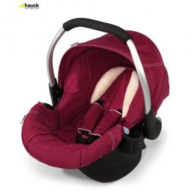 Hauck Zero Plus Comfort 0+ Car Seat-Trio Plum CLEARANCE
