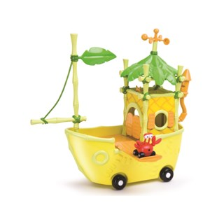 Jungle junction Taxicrab Boat Play Set with Taxicrab figure