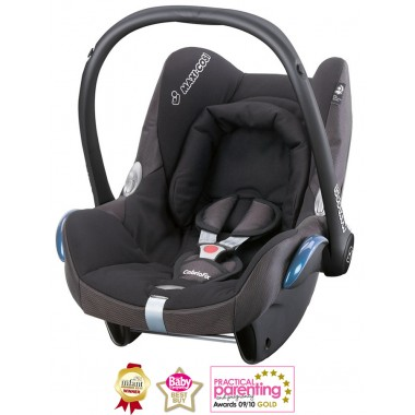 Maxi Cosi Cabriofix Group 0+ Car Seat-Black Reflection (NEW 2013)
