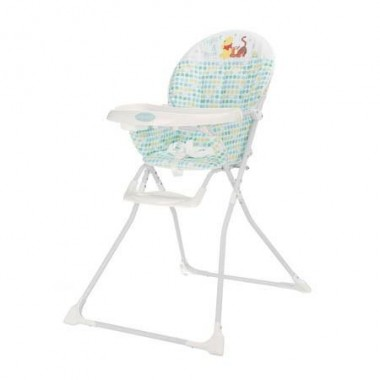 OBaby Disney Winnie the Pooh Highchair-Blue CLEARANCE