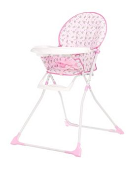 OBaby Munchy High Chair- Tiny Tatty Teddy Pink