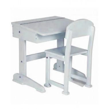 Saplings Desk & Chair-White CLEARANCE