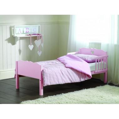 Saplings Heart Junior Bed-Pink CLEARANCE