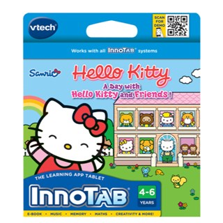 Vtech Hello Kitty - A Day with Hello Kitty and Friends! Innotab Game