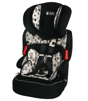 Baby Weavers Opus SP Car Seat - Orbit Black