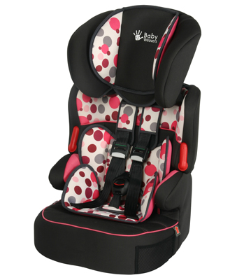 Baby Weavers Opus SP Car Seat - Orbit Pink