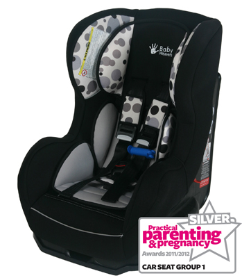Baby Weavers Shuffle SP Car Seat - Orbit BlackGrey