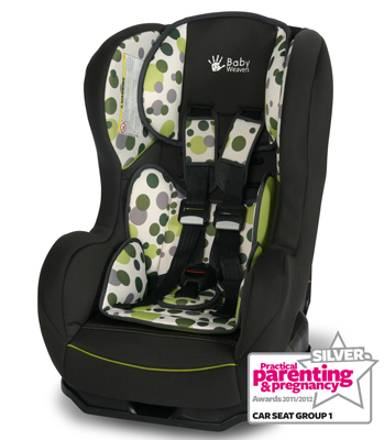 Baby Weavers Shuffle SP Car Seat - Orbit Green