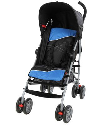 Kiddicare Jet Stroller - Blue