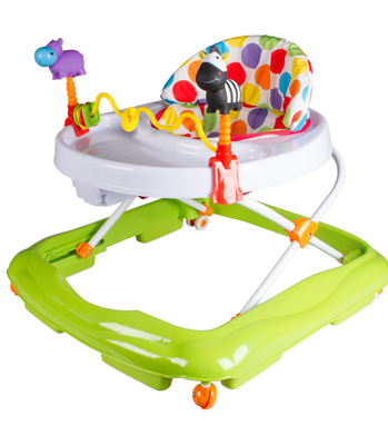 Kiddicare Polka Party Baby Walker