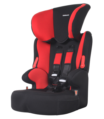 Kiddicare Traffic SP Group 123 Car Seat BlackRed