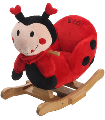 Ladybird Rocking Animal With Chair