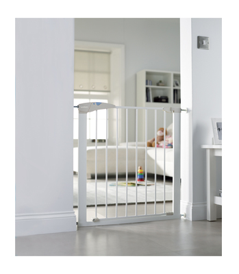 Lindam Sure Shut Axis Stairgate - White (75cm to 82cm)