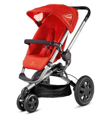 Quinny Buzz 3 Pushchair - Red Revolution
