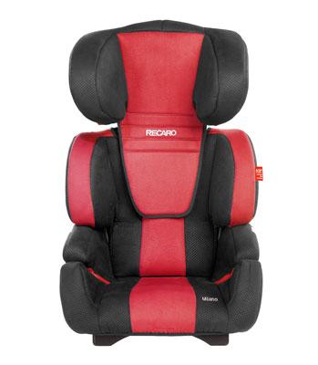 Recaro Milano Car Seat - Cherry