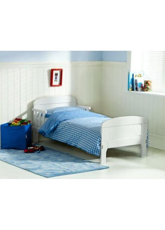 Saplings LouieHarriet Junior Bed-White (PLAIN PANEL) CLEARANCE