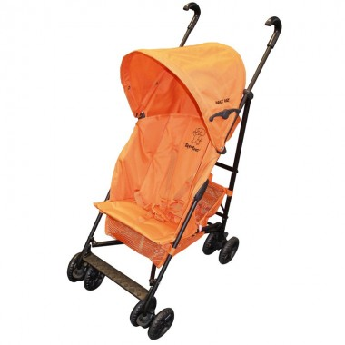 Tippitoes 'Max Viz' Stroller-Orange