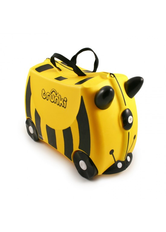 Trunki Ride On Suitcase-Bernard Bee