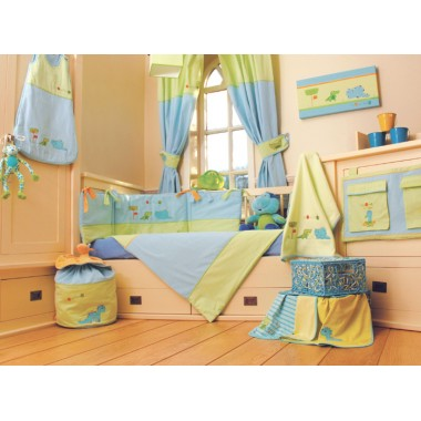Dormouse 9 Piece Bedding Roomset-Croc & Rumble