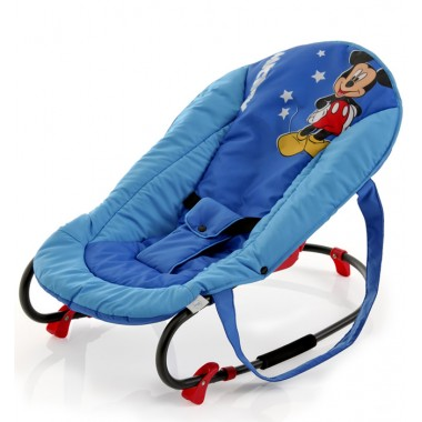 Hauck Disney Rocky Deluxe Bouncer-Mickey Blue (NEW)