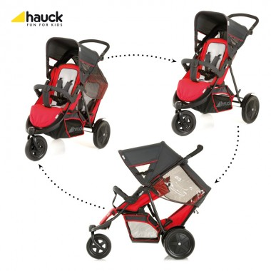 Hauck FreeRider Tandem-Red