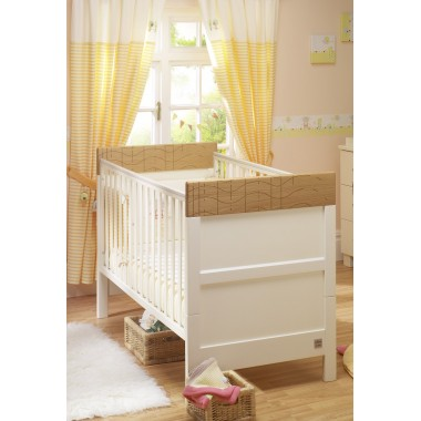 Lollipop Lane Lakeside Cot Bed-Cream CLEARANCE